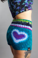 Electric Forest Love Yoga Shorts