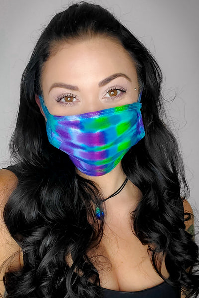 Coral Reef Original Tie Dyed Face Mask