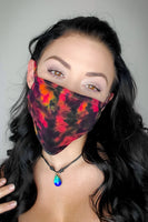 Mystic Inferno Original Tie Dyed Face Mask