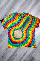 Rainbow Banjo Short Sleeve Tee