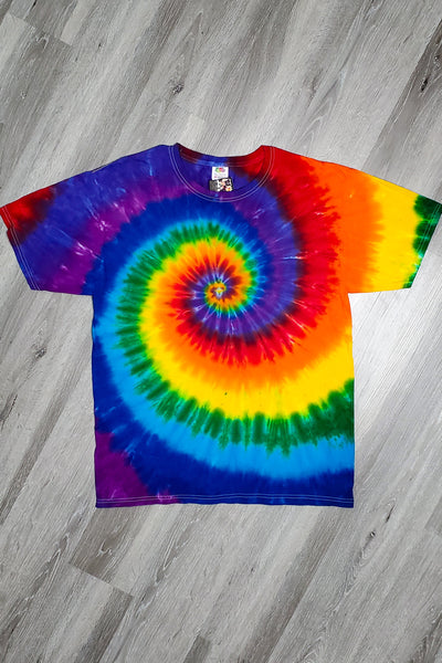 Rainbow Spiral Short Sleeve