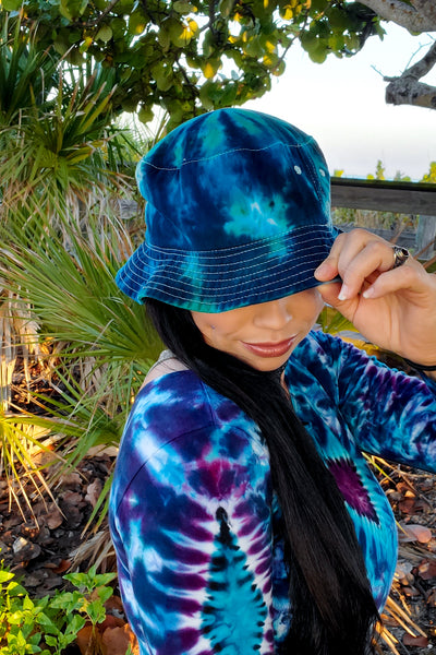 Ocean Vibes Adult Bucket Hat