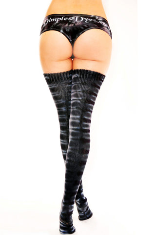 Rockstar Thigh High Socks