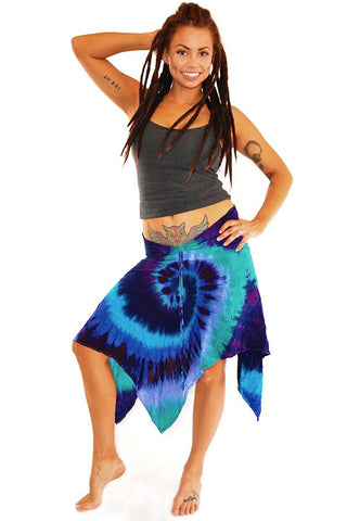 Sea Goddess Swirl Convertible Halter/Skirt