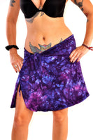 Perfect Purples Cotton Top/Skirt