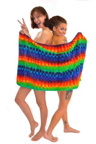 Rainbow Large Bath Towel