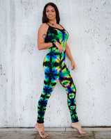 Intergalactic Rainbow Full Body Suit