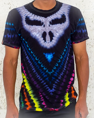 Midnight Rainbow Stealie Adult Short Sleeve