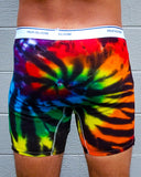 Midnight Rainbow Swirl Boxer Briefs
