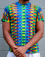Rainbow DNA Short Sleeve