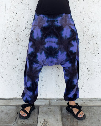 Purple Diamonds Ultimate Harem Pants