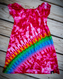 Pink Rainbow Girls Dress