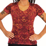 Mystic Inferno Ladies V-Neck