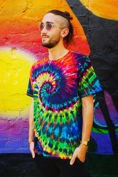 Craynbow Swirl Adult Short Sleeve Tee