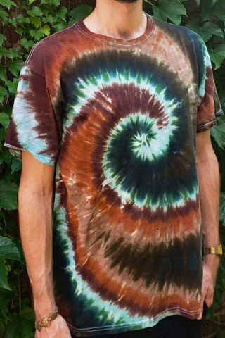 Leroy Brown Surf Swirl Adult Short Sleeve