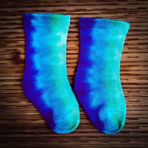 Bluebird Blues Baby Bamboo Socks