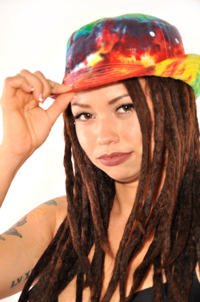 Bright Rainbow Versatile Adult Bucket Hat