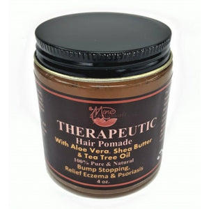 Therapeutic Hair Pomade - Mine Botannicals 4 oz
