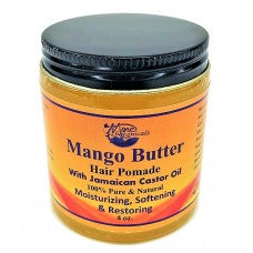 Mango Butter Hair Pomade - Mine Botannicals 4 oz