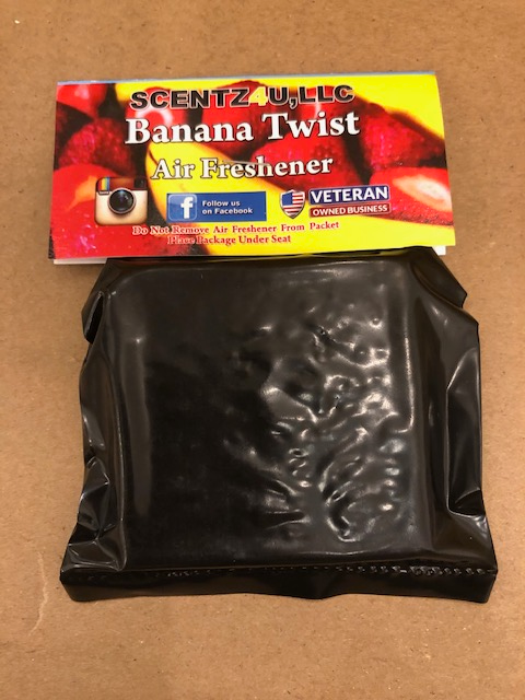 Banana Twist Air Freshener - Scentz4U