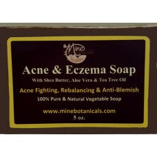 Acne & Eczema Soap - Mine Botannicals