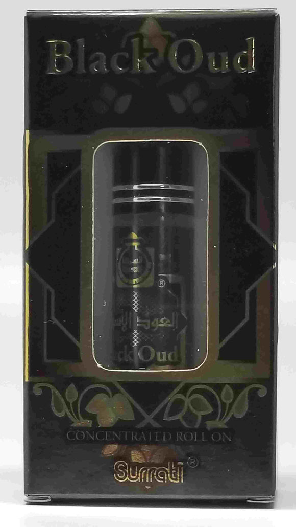 Black Oud by Surrati Imported Body Fragrance Oil (U) TYPE* ScentaRomaOils Scent Version MAH001