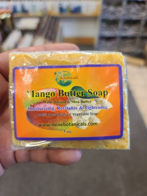Mango Butter Soap - Mine Botannicals