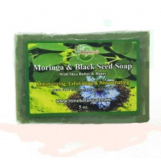 Moringa & Black Seed Soap - Mine Botannicals