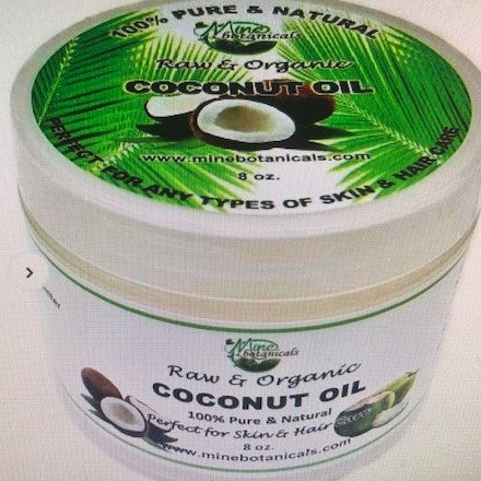 Raw & Organic Coconut Oil