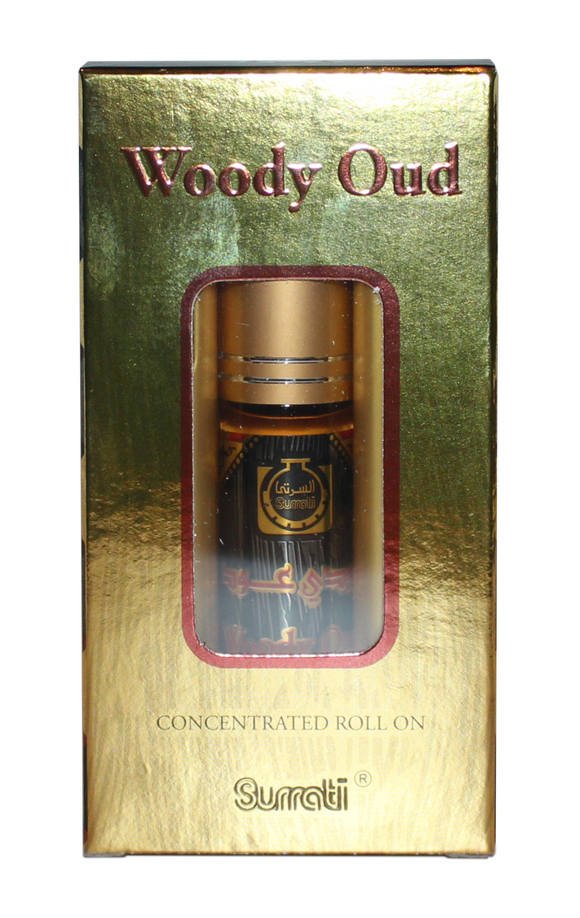 Woody Oud by Surrati Imported Body Fragrance Oil (U) TYPE* ScentaRomaOils Scent Version MAH001