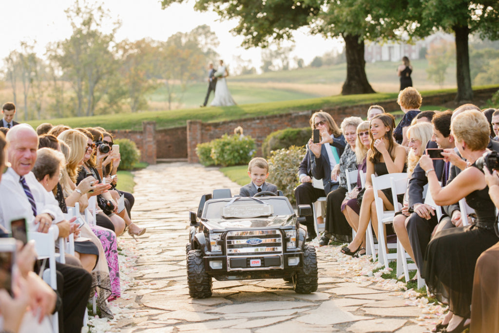 Tips on how to include kids in your wedding.