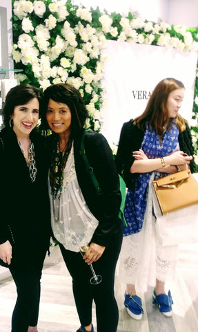 Bridalbouquets.com Founder Donna Means with Darcy Miller Martha Stewart Weddings