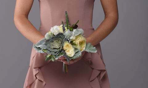 Savannah Bridesmaid Bouquet Rental - Bridalbouquets.com