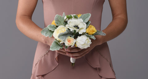 Image of Charlotte Bridesmaid Bouquet Rental - Bridalbouquets.com