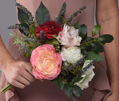 Image of Josie Bridesmaid Bouquet Rental - Bridalbouquets.com