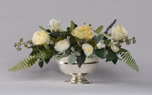 Savannah centerpiece Rental - Bridalbouquets.com