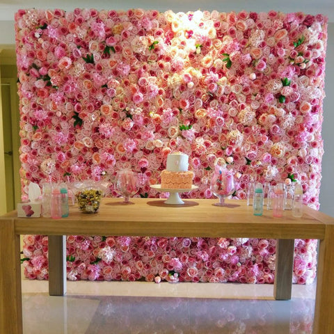 Flower Wall Backdrop Rental - Bridalbouquets.com