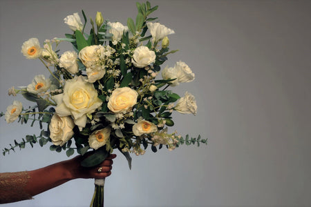 France Jane Bridal Bouquet Rental - Bridalbouquets.com