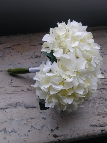 Image of Hydrangea Bridesmaid Bouquet Rental - Bridalbouquets.com