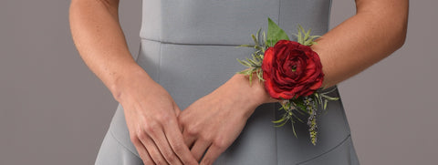 Josie Wrist Corsage Rental The price to rent is $10 Pay $5 today to reserve - Bridalbouquets.com