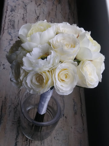 Peony Bridal Bouquet Rental - Bridalbouquets.com