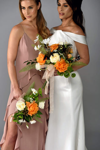 Chloe Bridesmaids Rental The price to rent is $30 Pay $15 today to reserve - Bridalbouquets.com