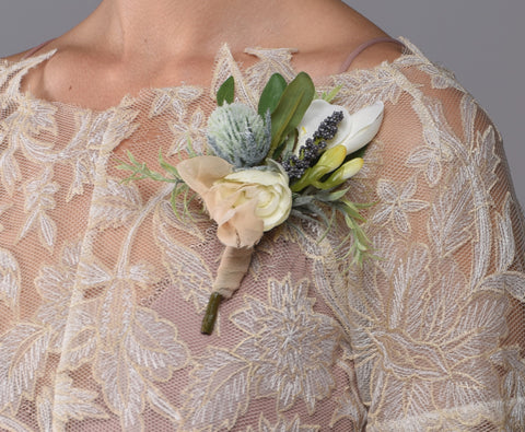Savannah Pin On Corsage Rental - Bridalbouquets.com