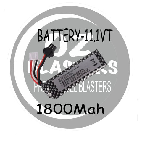 11.1vt Battery - Square 1800Mah