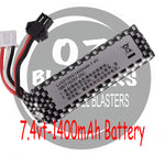 7.4vt 400mah Battery - Square