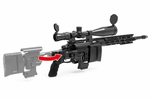 Remington MSR Sniper Rifle-BLACK