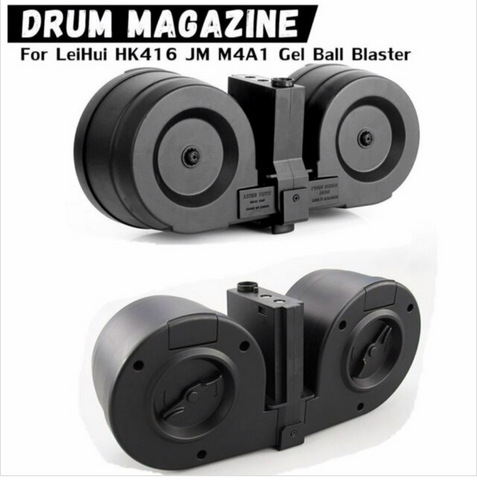 High CapacityDouble Electric Drum Magazine