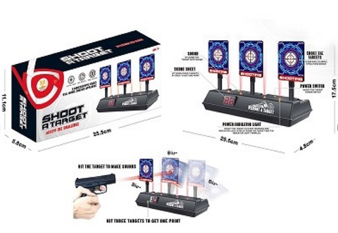 Electronic Auto Reset Scoring Shooting Target