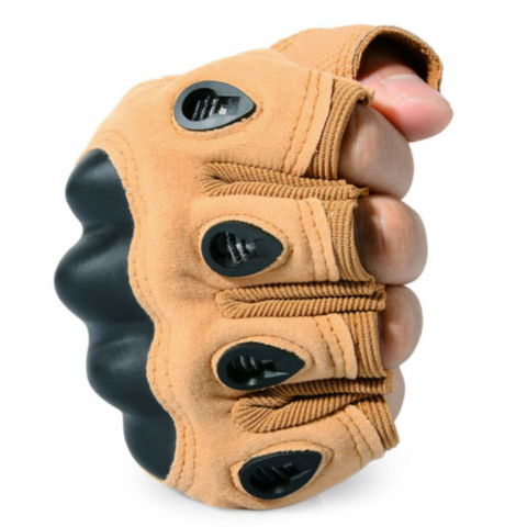 Tactical Hard Knuckle NO Finger Gloves