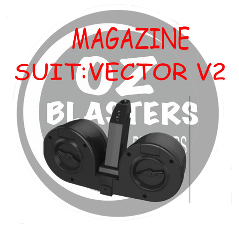 DOUBLE DRUM MAGAZINE-SS VECTOR V2